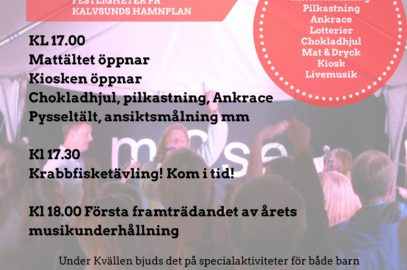 Program Kalvsundsdagarna 2017