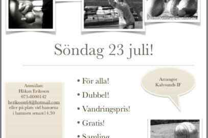 Boule Valen cup 23/7 -17